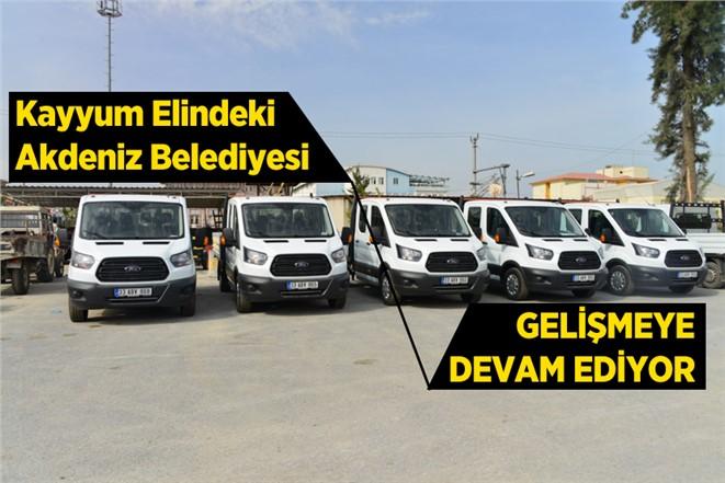 Akdeniz Belediyesi Araç Filosuna Güç Kattı