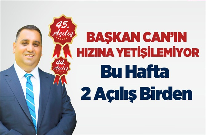 Tarsus Belediyesinde Bu Hafta 2 Açılış Birden, Akgedik Sosyal Tesisleri, Fahrettinpaşa Halı Saha - İşyerleri Açılışı