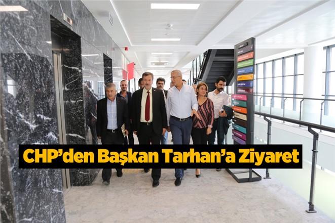 CHP İl Başkanı Adil Aktay'dan Başkan Tarhan'a Ziyaret