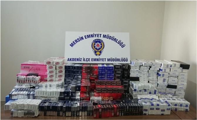 Mersin Polisinin Suç ve Suçluyla Mücadelesi Aralıksız Devam Ediyor