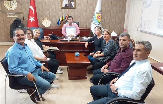 Ahmet Yesevi ilk öğretim Okulu Aile Birliğinden Tarsus Belediyesine Ziyaret