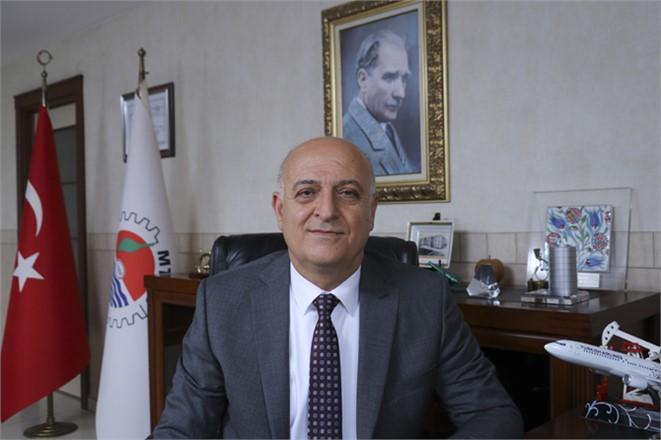 """MTSO Başkanı Ayhan Kızıltan """"Cumhuriyet Bayramımız Kutlu Olsun"""""""