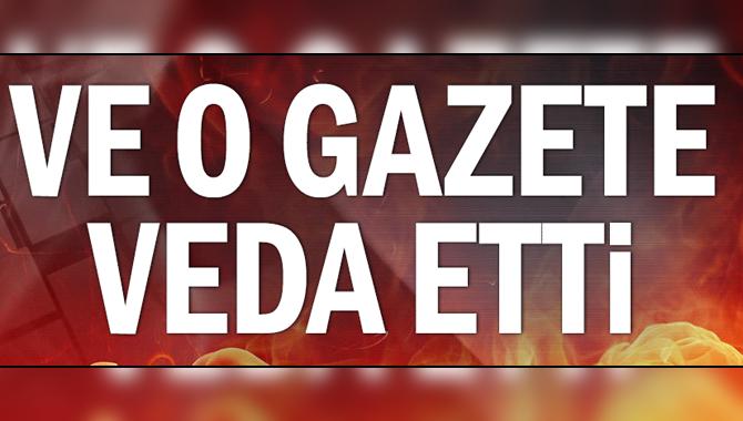 Vatan Gazetesi Yazılı Yayın Hayatına Veda Etti