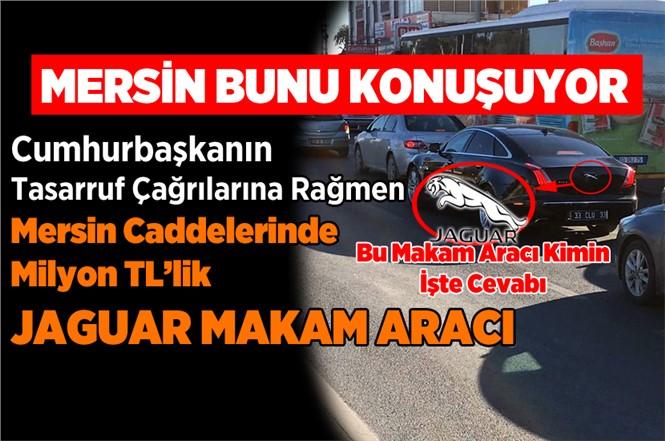 Mersin'de Milyon TL'lik Jaguar Makam Aracı Gündem Konusu Oldu
