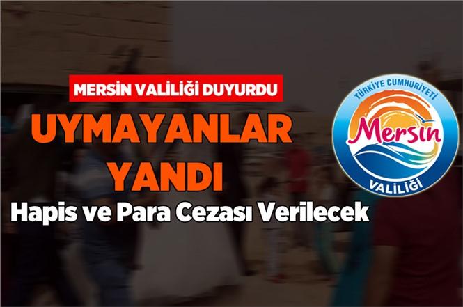 Mersin'de havaya Ateş Açanlara Cezai İşlem Uygulanacak