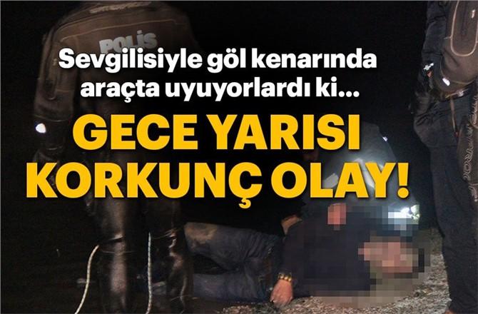 Konya'da Göle Giren Araçta Bulunan Mehmet Özer Hayatını Kaybetti