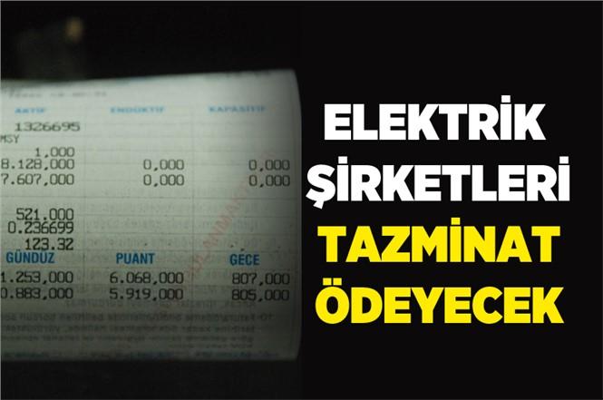 """13 Elektrik Dağıtım Şirketi Abonelerine """"Kalite Tazminatı"""" Ödeyecek"""