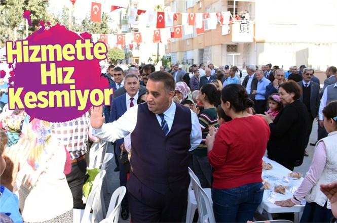 Tarsus Belediyesi Açılış Rüzgarı Bu Kez Şehitishak Mahallesinde Esti