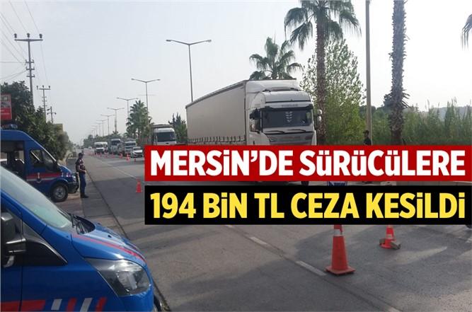 Mersin'de Jandarma Ekipleri Suça ve Suçlulara Göz Açtırmıyor