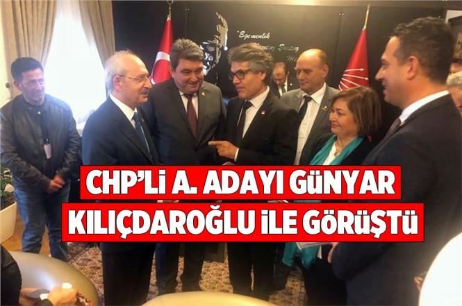 Mersin Tarsus Belediye Başkan Aday Adayı CHP'li Vedat Günyar Kılıçdaroğlu İle Görüştü