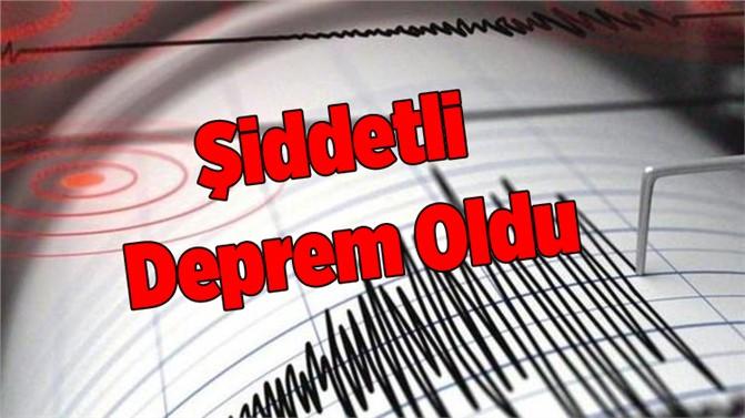 Şırnak'ta 4,2 Büyüklüğünde Deprem Oldu
