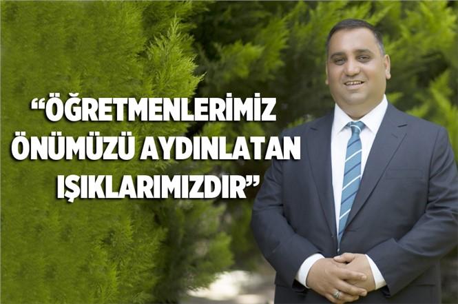 Tarsus Belediye Başkanı Şevket Can, Öğretmenlerin Günü'nü Kutladı