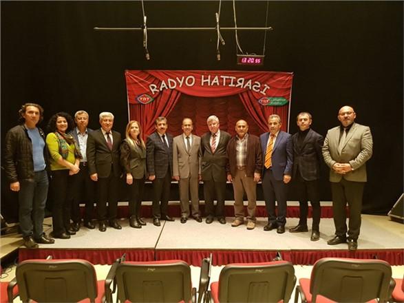 Mersin Gazeteciler Cemiyetinden TRT Bölge Müdürlüğüne ziyaret