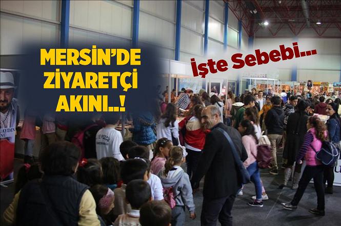 Mersin CNR Kitap Fuarı İlgi Görüyor, İşte Kapanacağı Tarih...