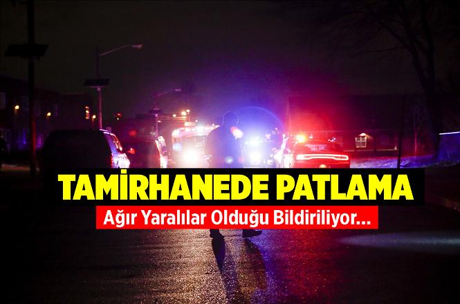 Adana Ceyhan'da Bir Atölyede Patlama;Hakan Karaaslan,Eyüp Karaaslan ve Şahin Aslan Yaralandı