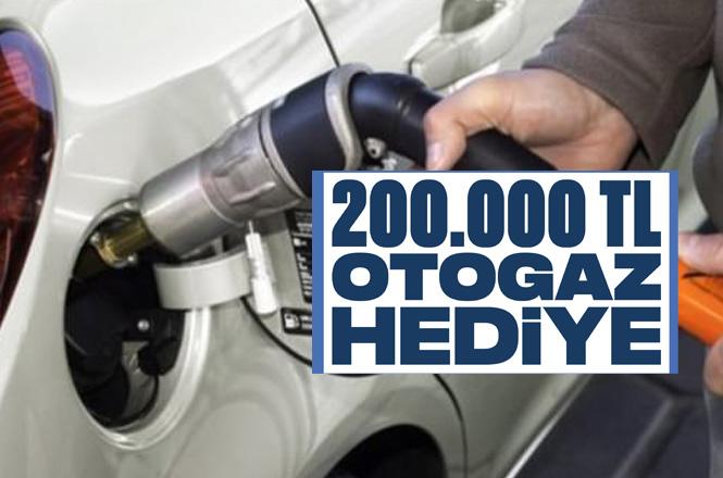 Aygaz Otogaz'dan 200 Bin TL Değerinde Yüksek Oktanlı Yakıt Otogaz Hediye