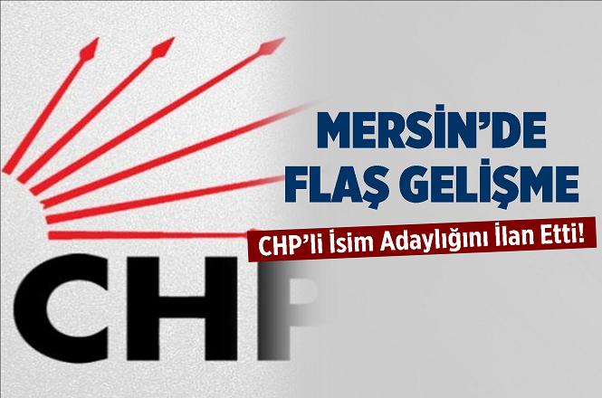 CHP'li Serdal Kuyucuoğlu Cep Telefonlarına Gönderdiği Mesajda 'Mersin'e Adayım' Dedi