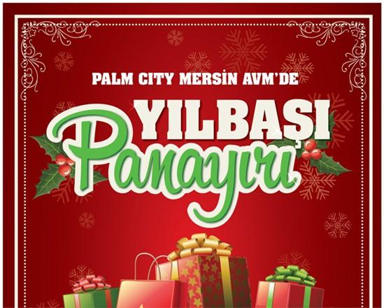 Palm City Alışveriş Merkezi Yılbaşına Hazır