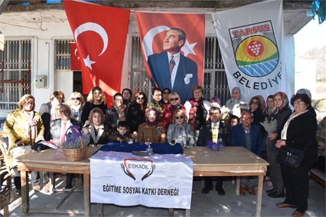 Tarsus Belediyesi'nden Girişimci Köy Kadınlarına Lavanta Desteği