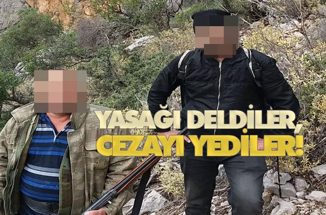 Mersin'de Aydıncık'ta Kaçak Avcılıkla Mücadele Aralıksız Sürüyor
