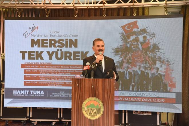 """Başkan Tuna; """"3 Ocak Yürüyüşümüz, Ulu Önderimiz Atatürk'ün İzinde Olduğumuzun İşaretidir"""""""