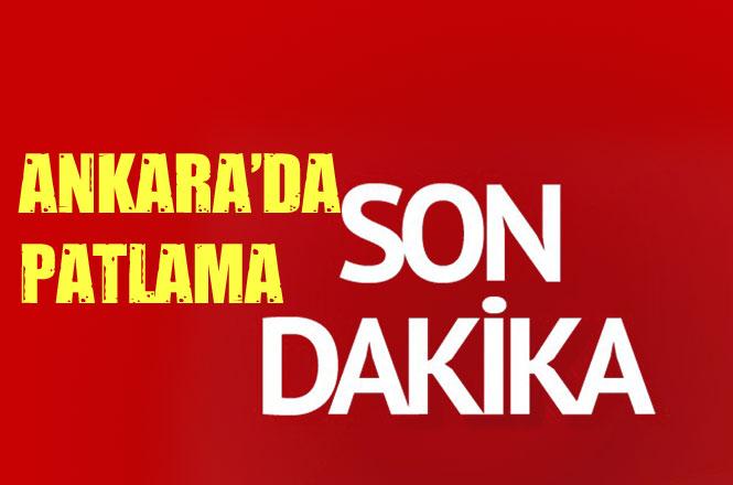 Ankara'da Patlama! Bir Binada Patlama Meydana Geldi