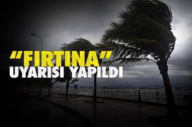 """Akdeniz'de Fırtına Bekleniyor! """"Fırtına""""ya Karşı Tedbirli Olunması İstenildi"""