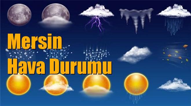 Mersin Hava Durumu; 09 Ocak Çarşamba, 10 Ocak Perşembe, 11 Ocak Cuma, 12 Ocak Cumartesi tahminler