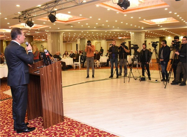Başkan Hamit Tuna'dan 10 Ocak Çalışan Gazeteciler Günü Kutlama Mesajı