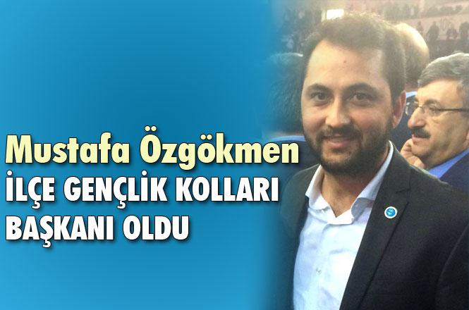 Mustafa Özgökmen İYİ Parti Tarsus Gençlik Kolu Başkanı Olarak Atandı