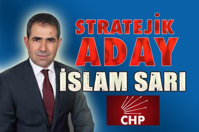 CHP Çamlıyayla Belediye Başkan Adayı İslam Sarı Oldu