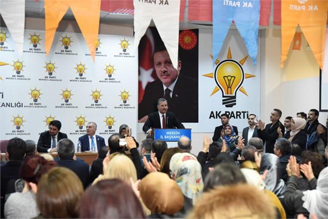 Başkan Tuna, AK Parti Teşkilatıyla Buluştu