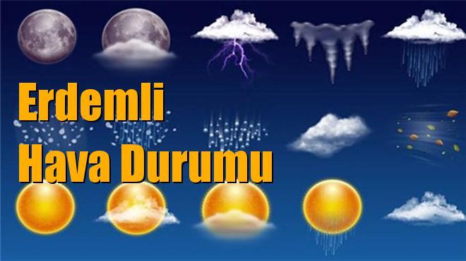 Erdemli Hava Durumu; 23 Ocak Çarşamba, 24 Ocak Perşembe, 25 Ocak Cuma, 26 Ocak Cumartesi tahminler