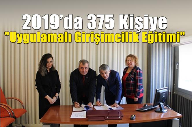 """Tarsus Ticaret Borsası'nda Bu Yıl 375 Kişiye """"Uygulamalı Girişimcilik Eğitimi"""" Verilecek"""