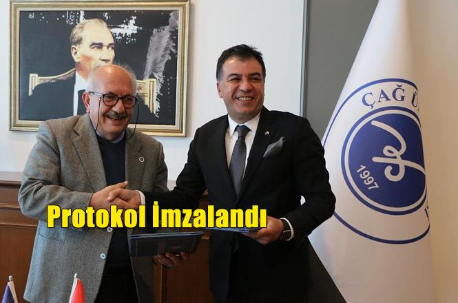 Tarsus Ticaret ve Sanayi Odası ile Çağ Üniversitesi Arasında İş Birliği Protokolü İmzalandı