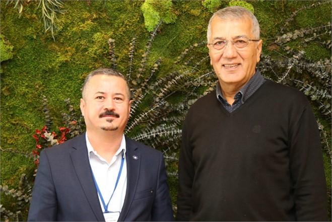 TMMOB'dan Mezitli Belediye Başkanı Neşet Tarhan'a Ziyaret