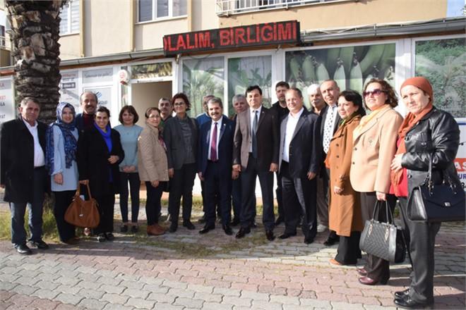 İYİ Parti Antalya Milletvekili Feridun Bahşi'denMersin Anamur'a Bir Dizi Ziyaret