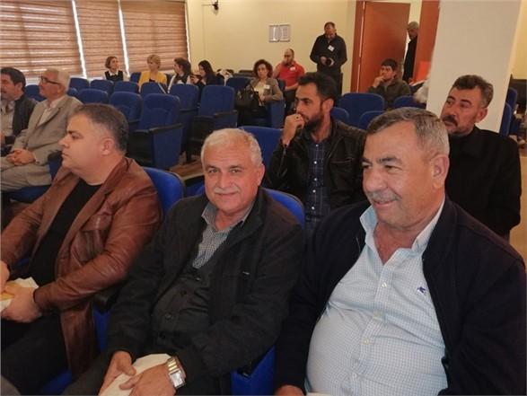 Tarsus'ta 1000 Çiftçi 1000 Bereket Projesi Kapsamında Üreticilere Çiftlik Yönetim Sistemi Anlatıldı