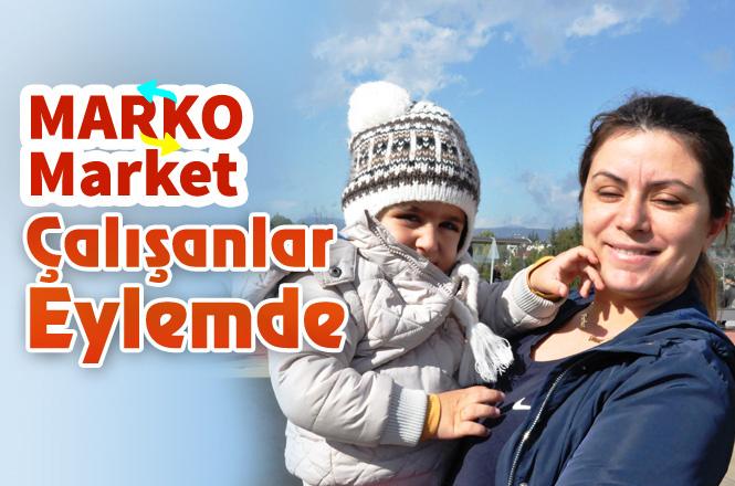 MAKRO Market Çalışanları Eylemde! İşçiler, Eş, Çocukları ve Akrabalarıyla Meydanda