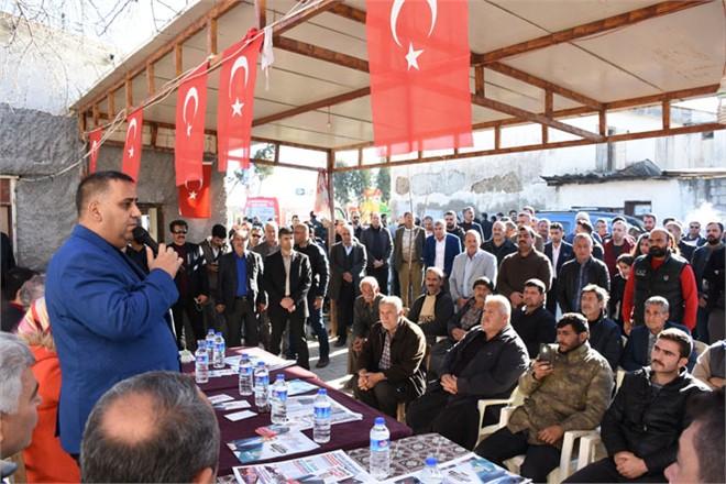 Cumhur İttifakı Tarsus Belediye Başkan Adayı Şevket Can'a Ova Mahallelerinde Sevgi Seli