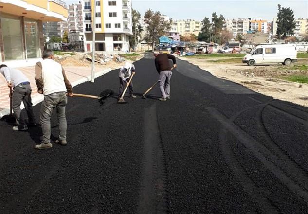 Akdeniz Belediyesi Fen İşleri Müdürlüğü Ekiplerinden Yoğun Mesai