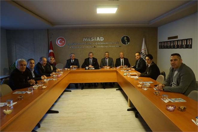 İş Dünyasından Başkan Tarhan'a Güvenoyu