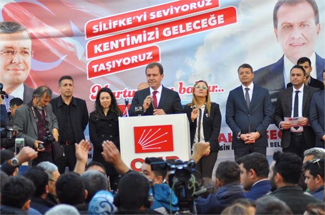"""CHP Büyükşehir Adayı Vahap Seçer, """"YOKSULLUK MERSİN'İN KADERİ DEĞİL"""""""