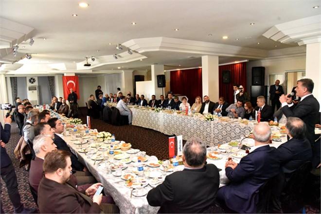 """Başkan Tuna; """"Yatırımcının Önünü Açacağız"""""""