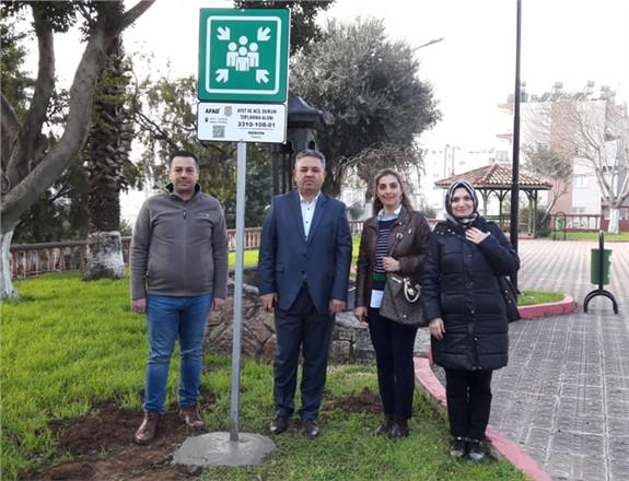 Afet ve Acil Durumda Tarsus'ta Toplanma Merkezleri Belirlendi