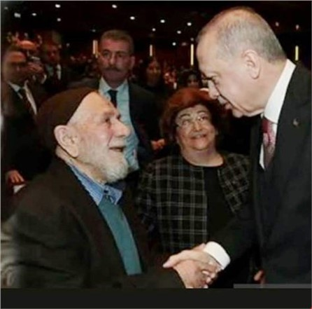 Tarsus'lu İsmail Dede ile Cumhurbaşkanı Erdoğan Arasındaki Konuşma Şura'ya Damga Vurdu