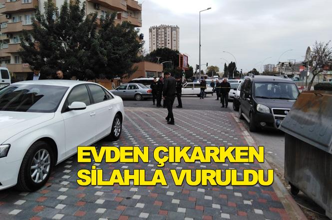 Mersin Tarsus Şehitishak Mahallesi Cetvel Mevki Köprü Başında Silahlı Saldırı 1 Yaralı