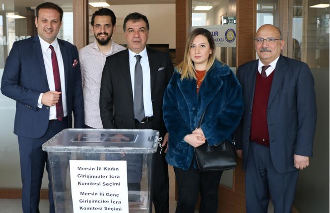 Tarsus'ta TOBB Kadın Girişimciler Kurulu ve İl Genç Girişimciler Kurul İcra Komitesi Seçimleri Yapıldı