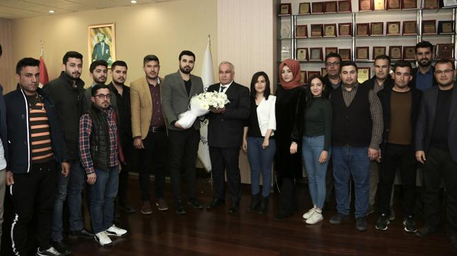 """Başkan Tollu, AK Parti Gençlik Kolları İle Buluştu. """"Ülkenin Omurgası, Gençlerimiz"""""""