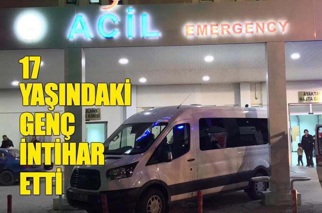 Mersin Tarsus Kulak Mahallesinde 17 yaşındaki Genç Kendini Sera Demirine Asarak İntihar Etti
